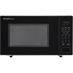 Carousel 1.1 cu. ft. 1000-Watt Countertop Microwave Oven in Black (ISTA 6 Packaging)