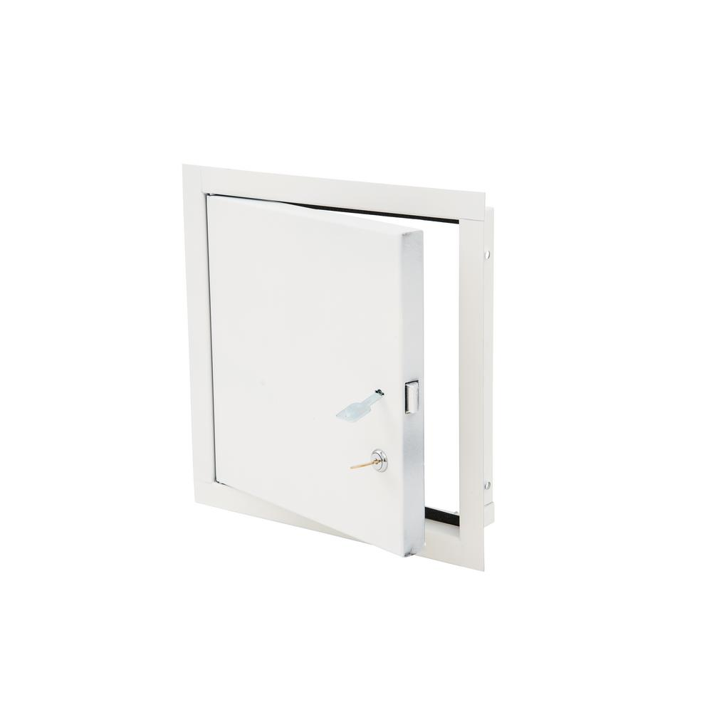 Elmdor 12 In X 12 In Steel Access Panel For Exterior Use Ed12x12pc Cl The Home Depot