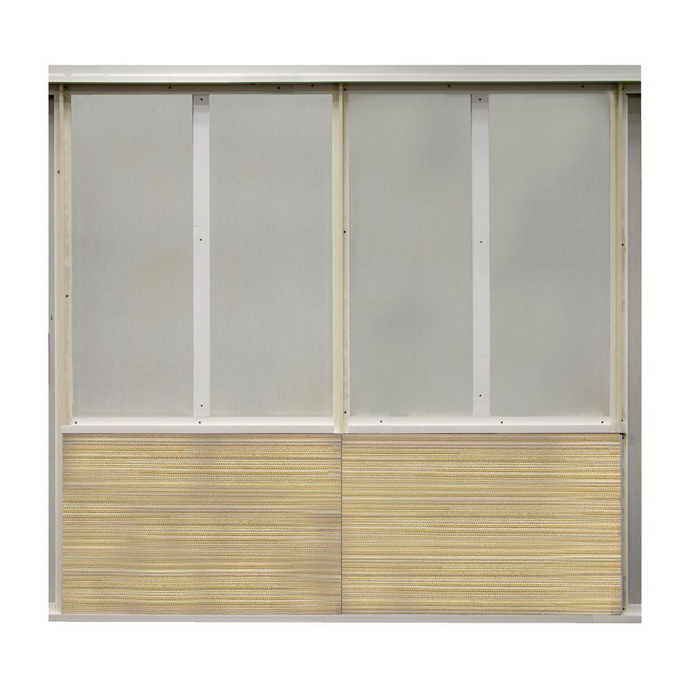 SoftWall Finishing Systems 20 sq. ft. Goldust Fabric Covered Bottom Kit Wall Panel