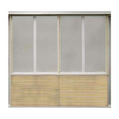 20 sq. ft. Goldust Fabric Covered Bottom Kit Wall Panel