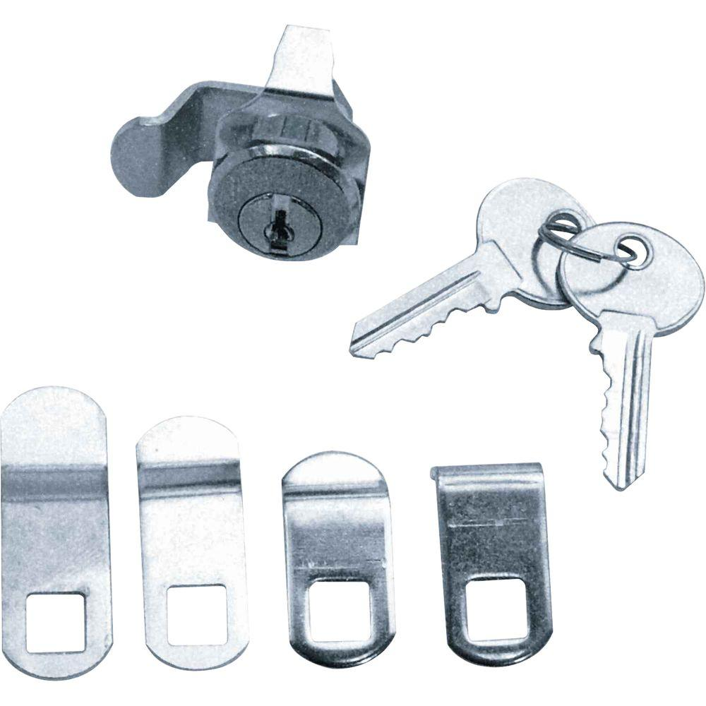 Prime Line Nickel Universal Mailbox Lock S 4140 The Home