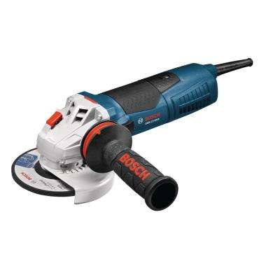 Factory Reconditioned 13 Amp 5 in. Corded Variable Speed Angle Grinder with Auxiliary Handle