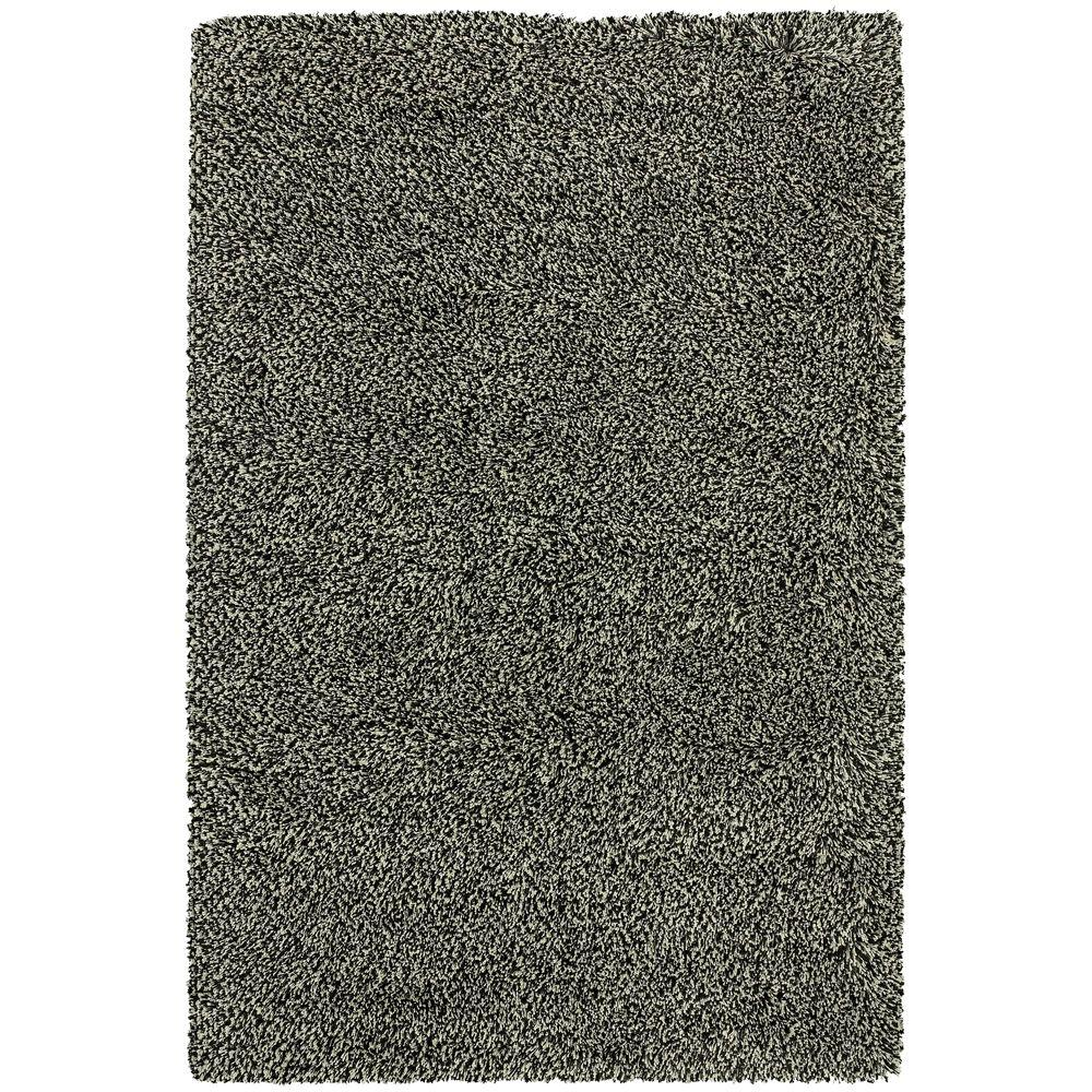 Urban Loft Black White 2 ft. x 3 ft. Area Rug