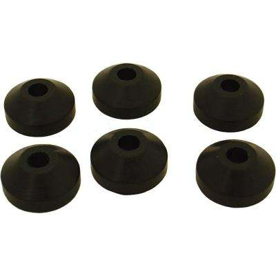 21/32 in. O.D. (3/8M Trade Size) Beveled Faucet Washers (6-Pack)