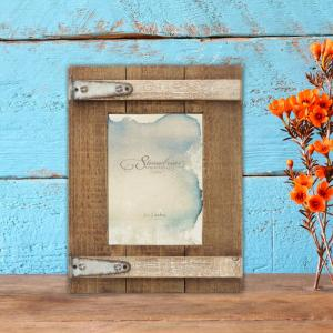 Stonebriar Collection 1-Opening 5 inch X 7 inch Brown Wooden Picture Frame by Stonebriar Collection