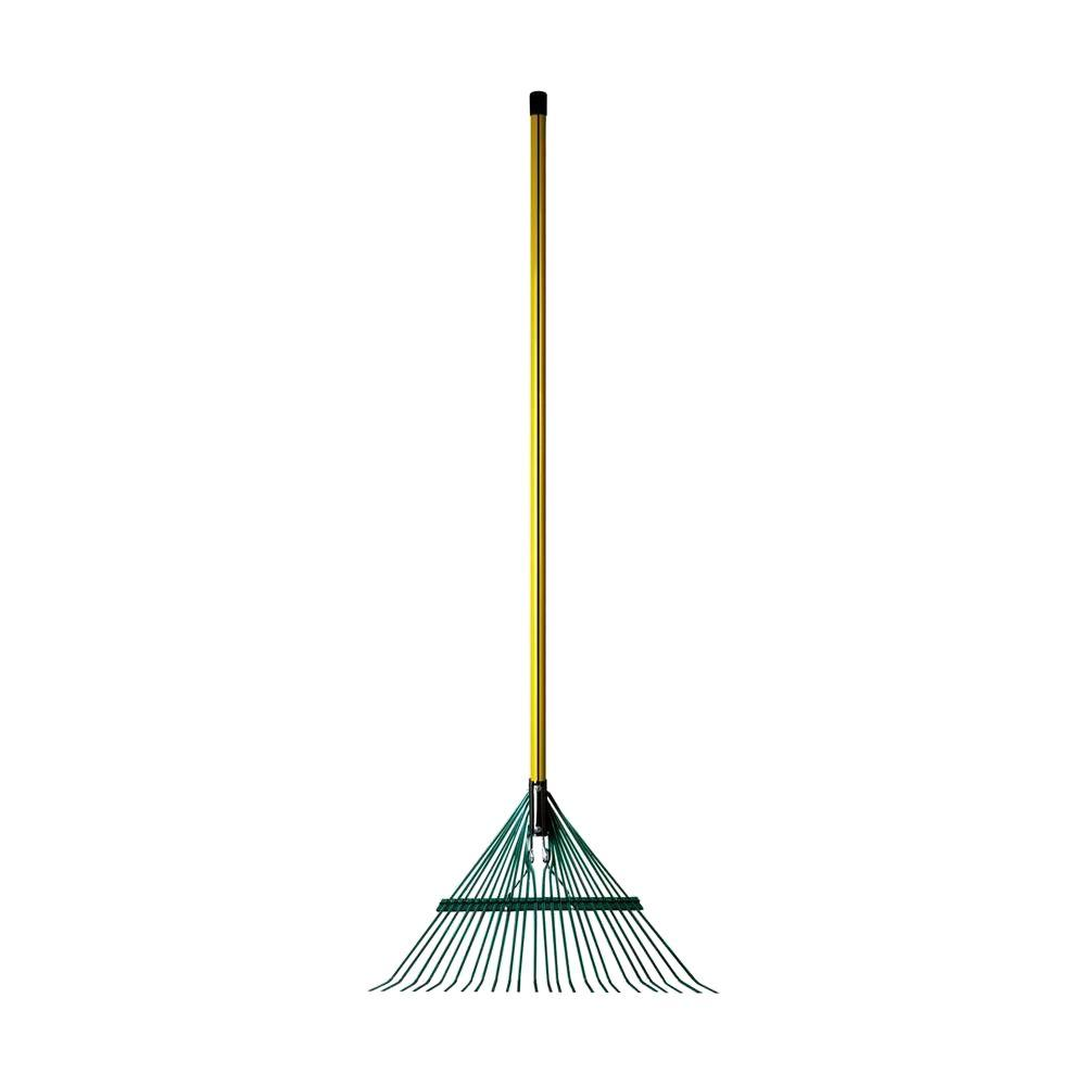 Heavy Duty 24-Tine Leaf Rake with 54 in. Classic Fiberglass Handle