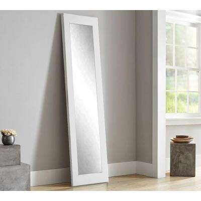 full mirror for floor standing allmodern decor ideas mirrors reviews intended length