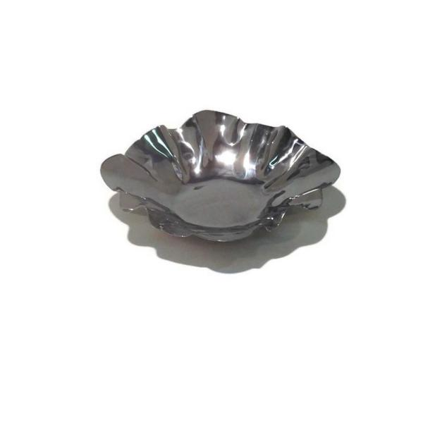 9 In. Dia. x 1 1/8 In. H Small Flower Shiny Bowl