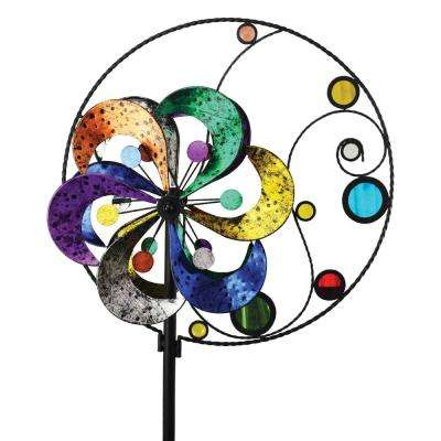 84 in. Spinner Circle/Flower and Mirrors