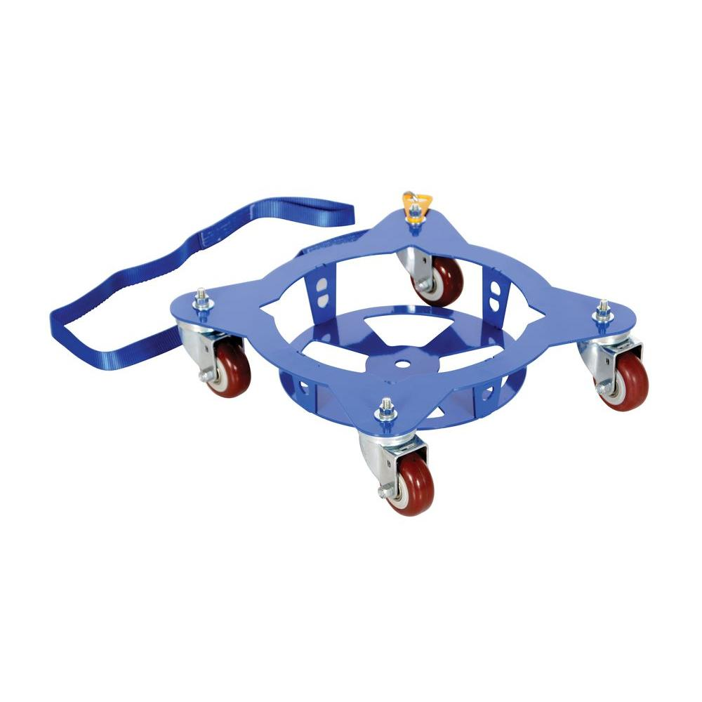 150 lb. Capacity Multi-Pail Dolly with Pull Strap