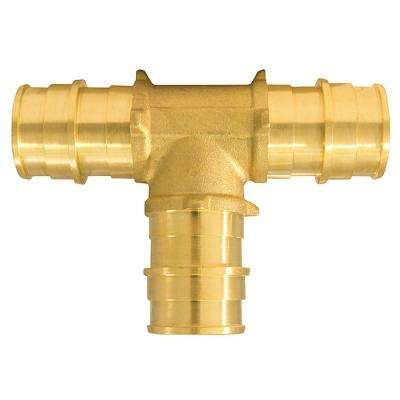3/4 in. Brass PEX-A Expansion Barb Tee (5-Pack)