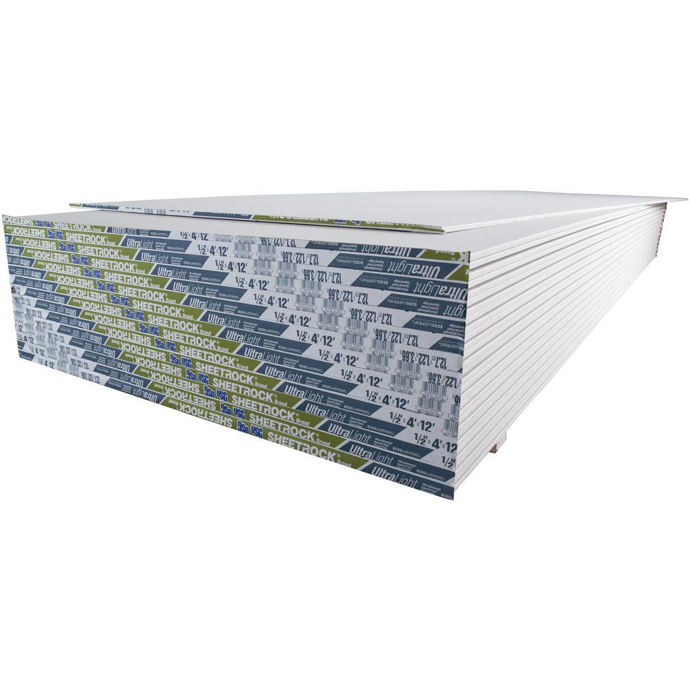 1/2 in. x 4 ft. x 12 ft. Ultralight Panels