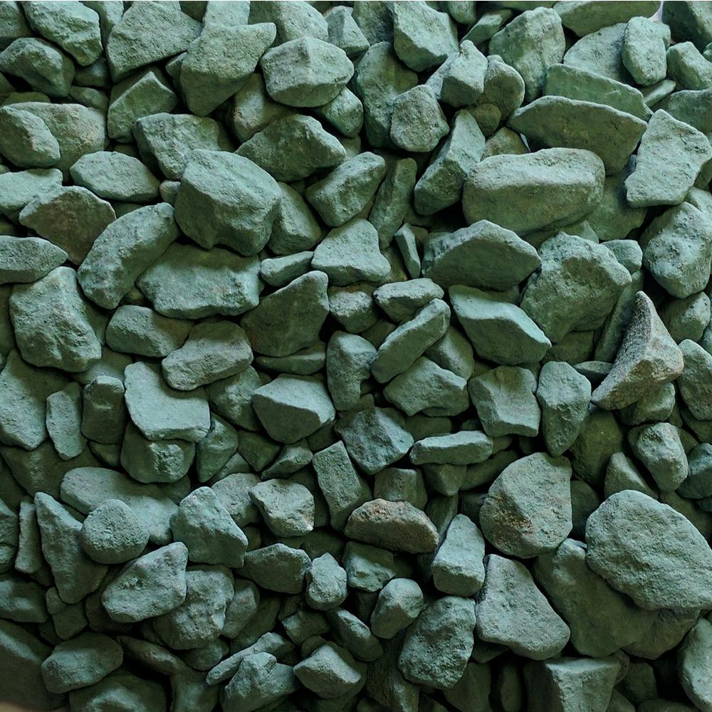 0.50 cu. ft. 40 lbs. 3/4 in. Foliage Green Landscaping Gravel