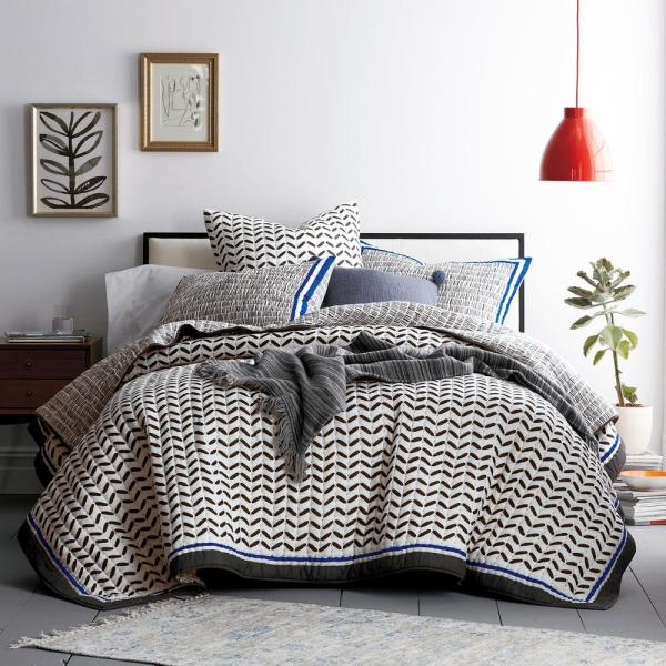 Cstudio Home by The Company Store Waveny Multi Cotton King Quilt