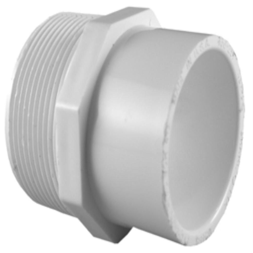 3/4 in. x 1 in. PVC Sch. 40 MPT x S