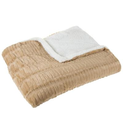 Polyester Fleece/Sherpa Blanket