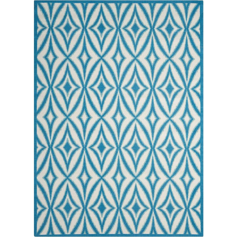 Waverly Centro Azure 10 ft. x 13 ft. Indoor/Outdoor Area Rug