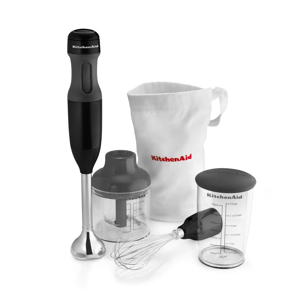 Kitchenaid 3 Speed Immersion Blender Khb2351ob The Home Depot