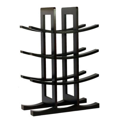12-Bottle Bamboo Countertop Wine Rack