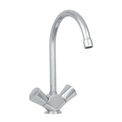 2-Handle Kitchen Faucet in StarLight Chrome