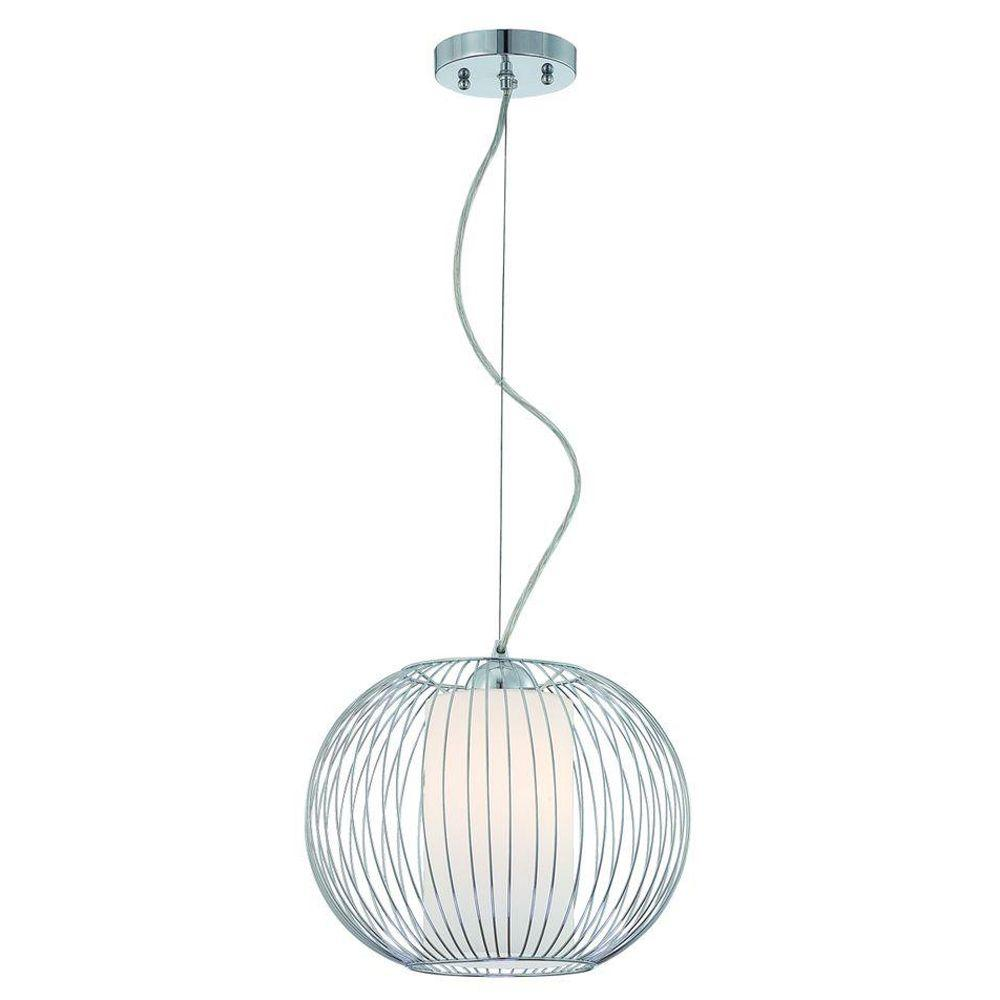 Eurofase Avila Collection 1-Light Chrome Pendant