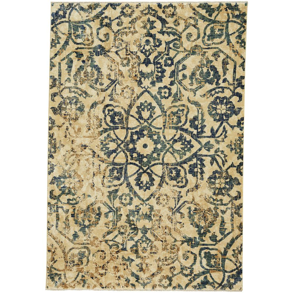 Capel Anatolia-Vintage Star Moss 5 Ft. 3 In. X 8 Ft. Area