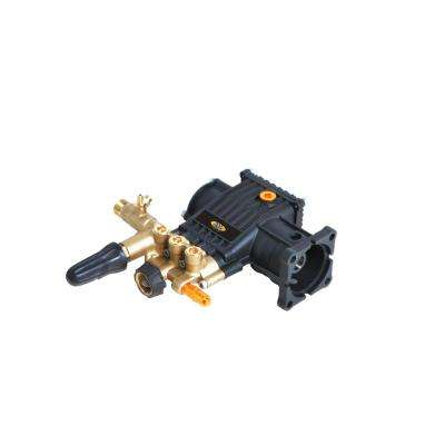 8.7GA12 3,400 psi 2.5 GPM AAA Triplex Plunger Horizontal Pump with Brass Head and Powerboost Technology