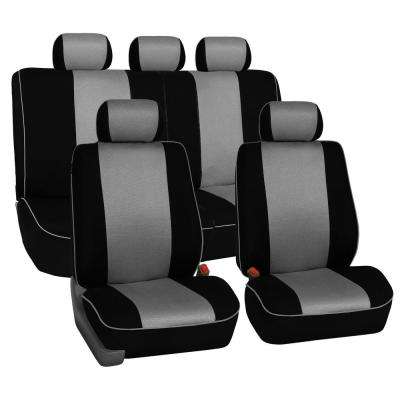 Cloth 21 in. x 21 in. x 1 in. Full Set Seat Covers