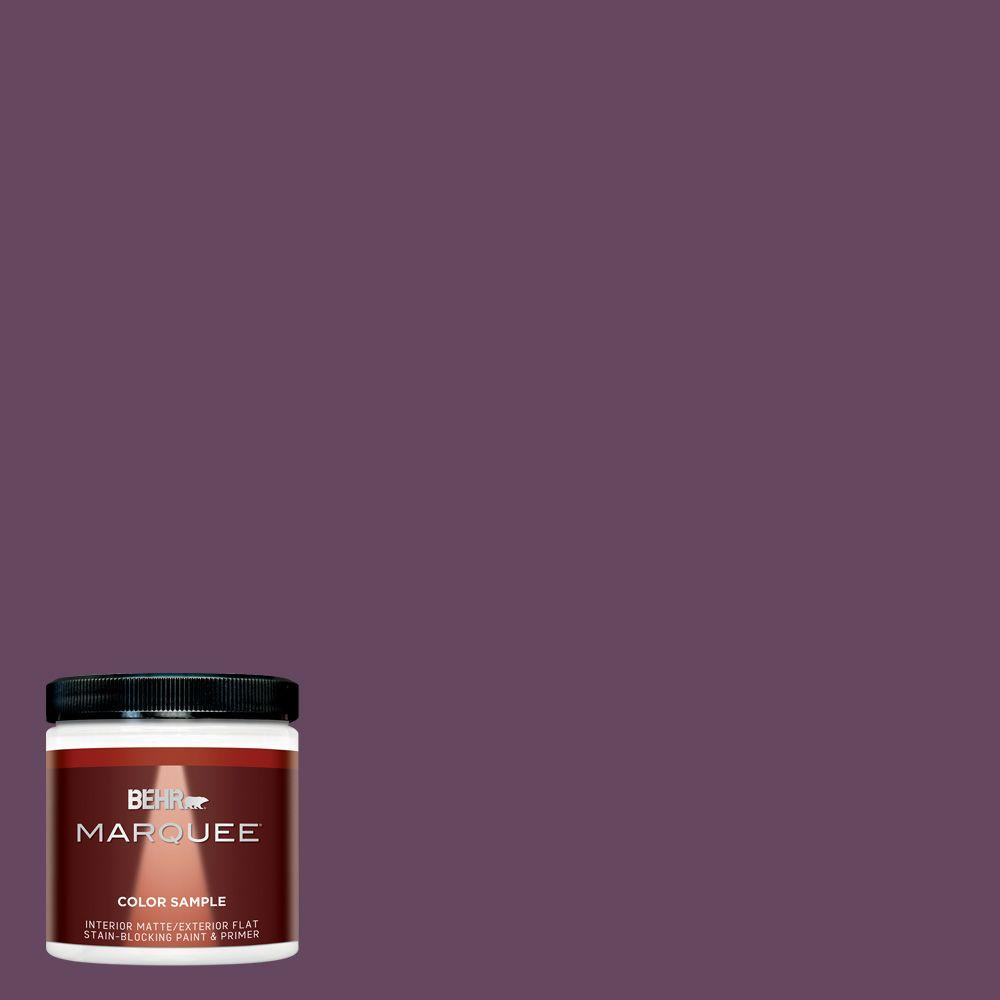 Mq5 35 Plum Rich Interior Exterior Paint Sample