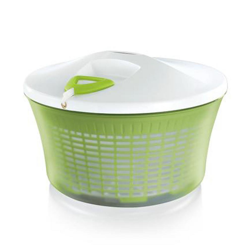 White/Green, Salad Spinner