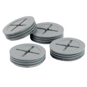 3/4 in. Weatherproof Closure Plugs, Gray