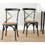 Eleanor Hickory X Back Side Chair (Set of 2)