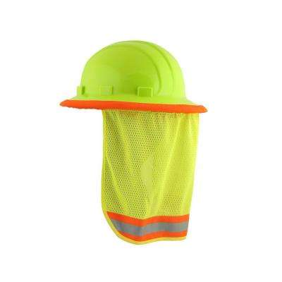 S268 Mesh Neck Shield in Hi-Viz Lime