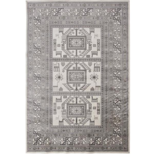 Sonoma Myan Ivory and Grey 3 ft. 2 in. x 4 ft. 6 in. Area Rug