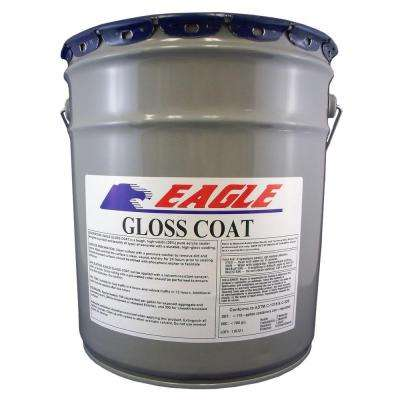 5 Gal. Gloss Coat Clear Wet Look Solvent-Based Acrylic Concrete Sealer