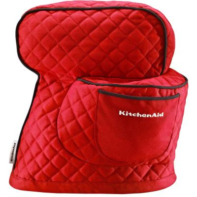 Empire Red Fitted Cotton Stand Mixer Cover for Tilt-Head Stand Mixers