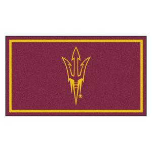 NCAA Arizona State University 3 ft. x 5 ft. Ultra Plush Area Rug