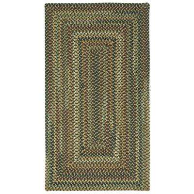 Bangor Very CharCoal 2 ft. 3 in. x 4 ft. Concentric Area Rug