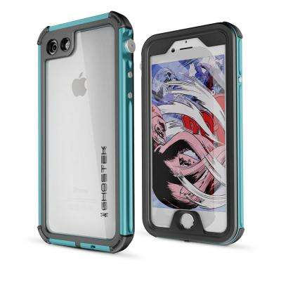 iPhone 7 Atomic 3 Waterproof Case, Teal