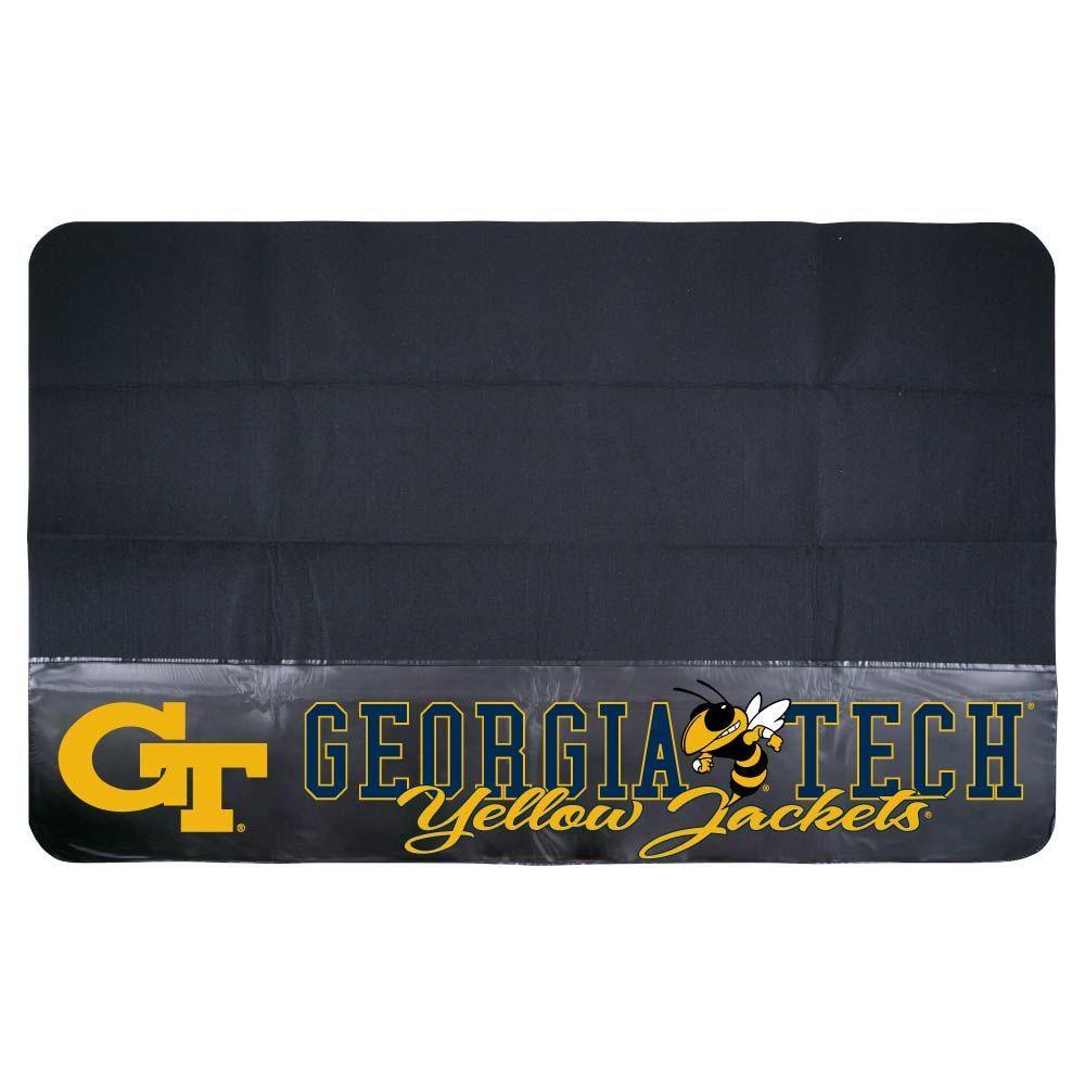 Mr. Bar-B-Q Georgia Tech 48 in. x 30 in. NCAA Grill Mat-DISCONTINUED