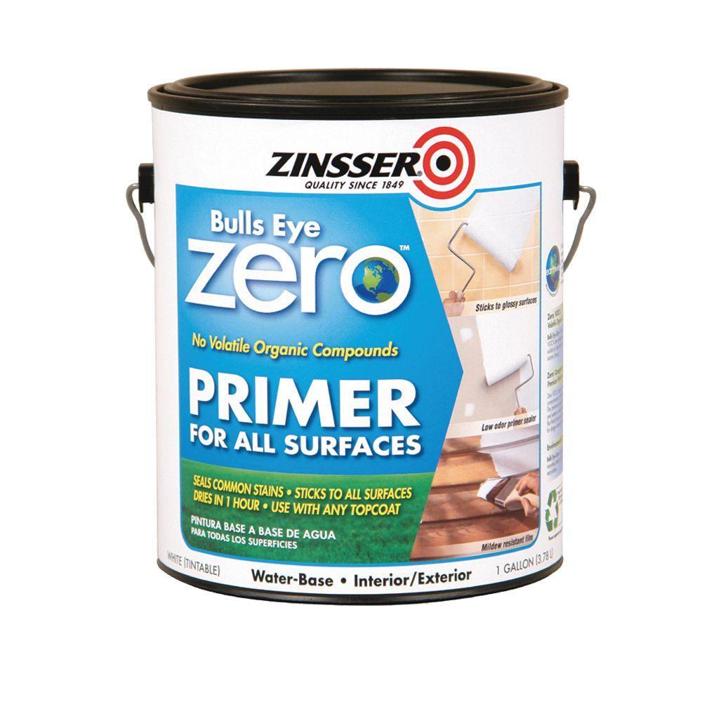 Zinsser Bullseye Zero 1-gal. White Primer-DISCONTINUED