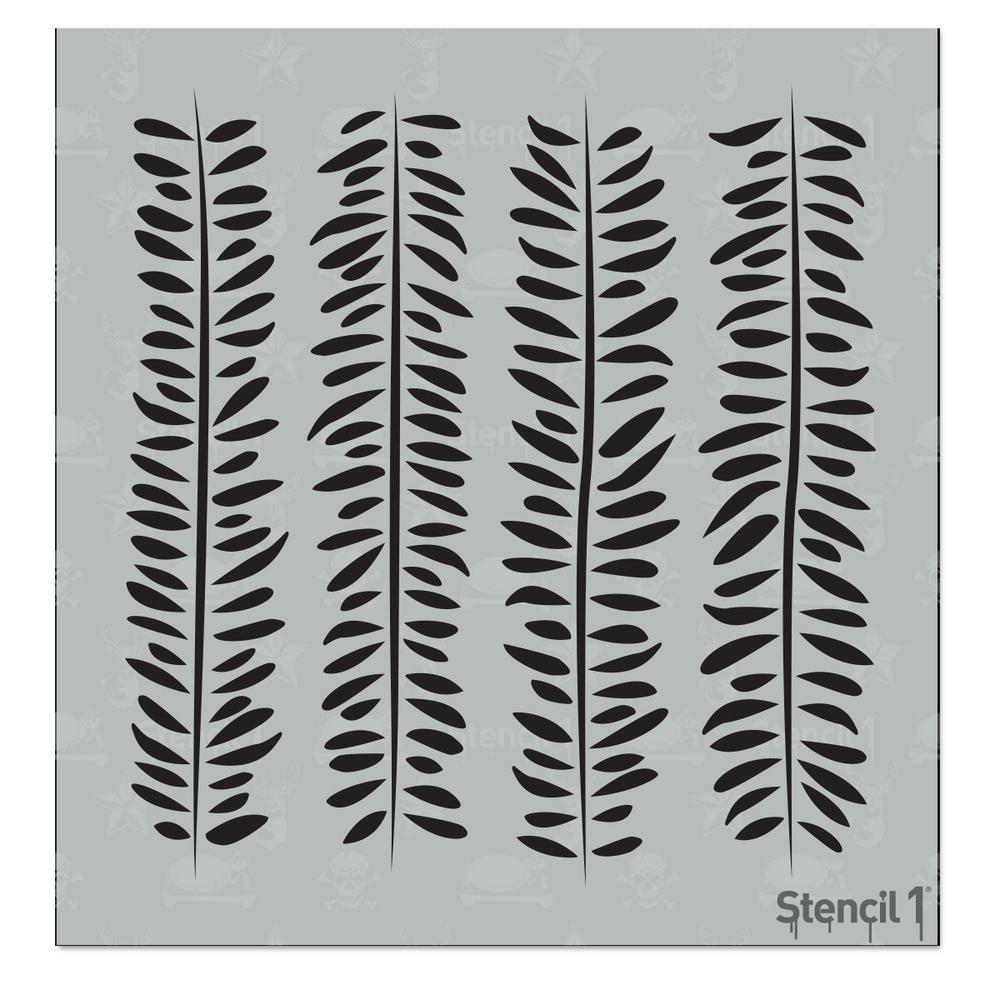 Vines Small Stencil