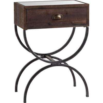 Strattanville Brown Accent Table