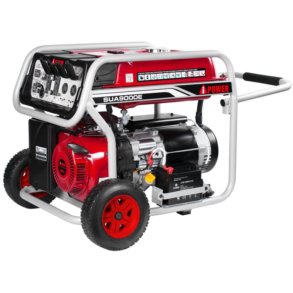 9000 Watt Generator With Electric Start Wiring Diagram And Ebooks Champion A Ipower 7250 Gasoline Powered Portable Rh Homedepot Com Gas