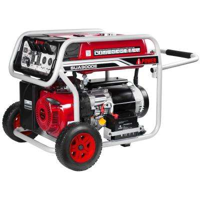 7250-Watt Electric Start Gasoline Powered Portable Generator