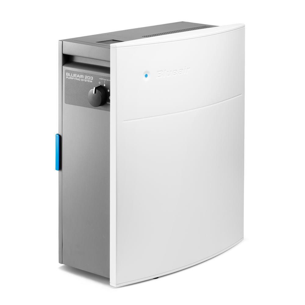 BlueAir HEPASilent Classic 203 Slim Air Purifier, White