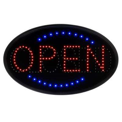 23 in. x 14 in. LED 2 Message Open Closed Sign