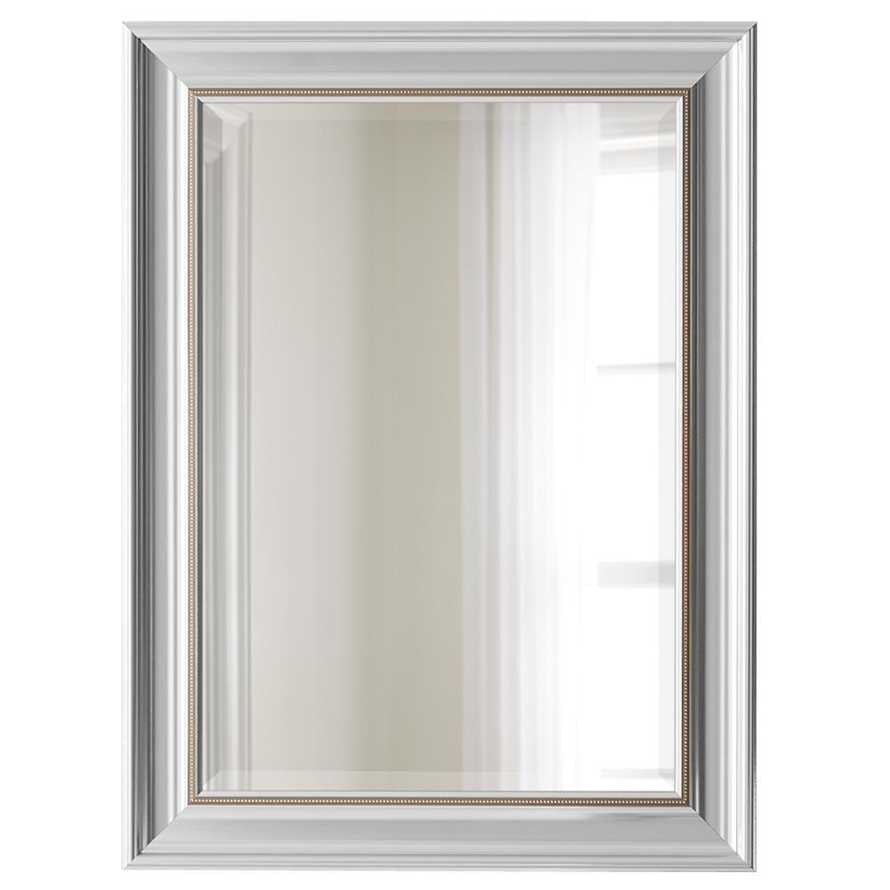 31in. x 23 in. Silver Mirror