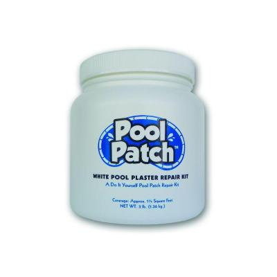 Pool Patch 3 Lb White Pool Plaster Repair Kit Wpp3 The Home Depot
