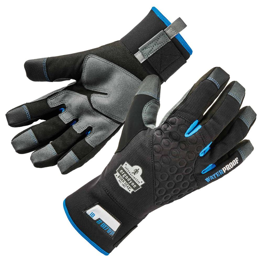 Winter Snow Work Gloves Heated Insulated Shoveling Snow Gloves for Snow Blower
